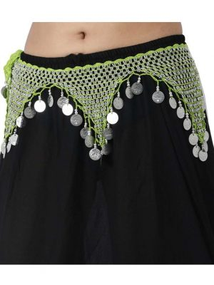 Wevez 12 pcs Oriental Belly Dance Tribal Hip Scarf Scarves