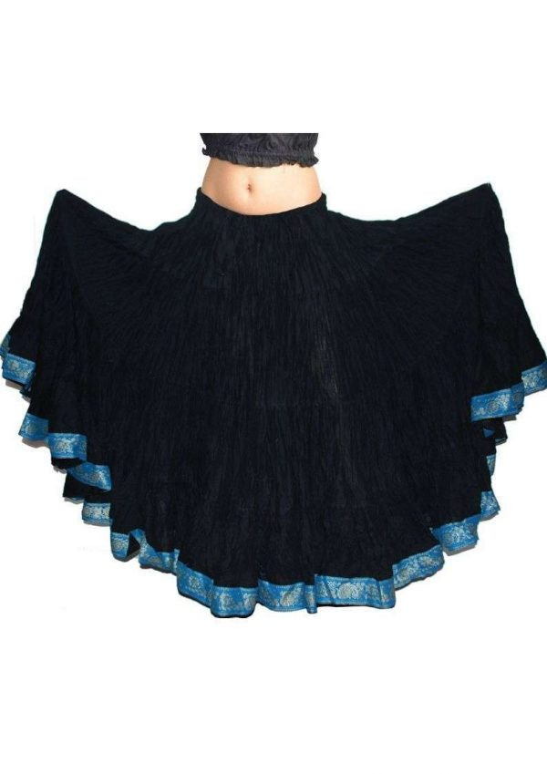 Wevez 25 Yard Casual Lace Skirts for Women