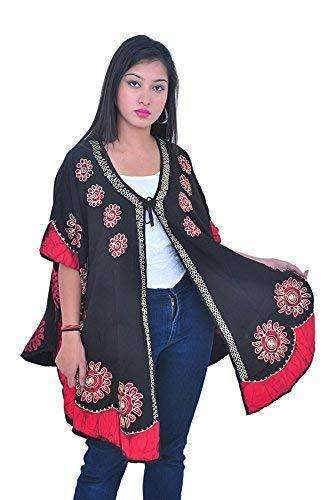 Wevez Casual Daily Wear Open Summer Poncho