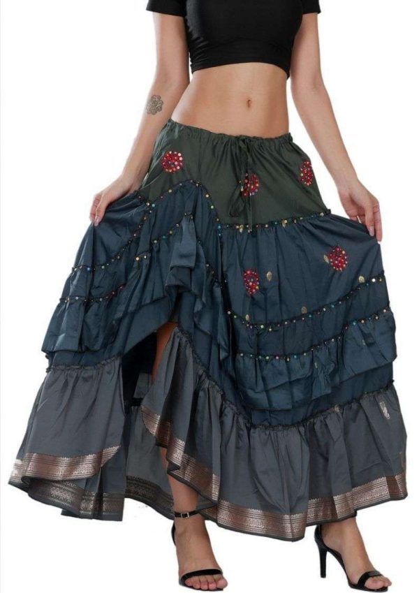 Pack of Wevez Designer Indian Skirts From Jaipur
