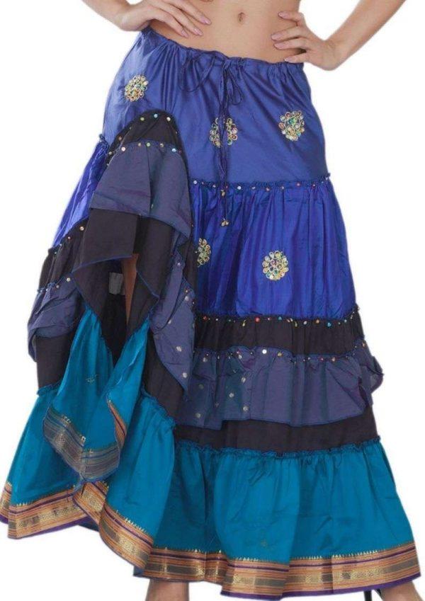Pack of Wevez Designer Indian Skirts From Jaipur