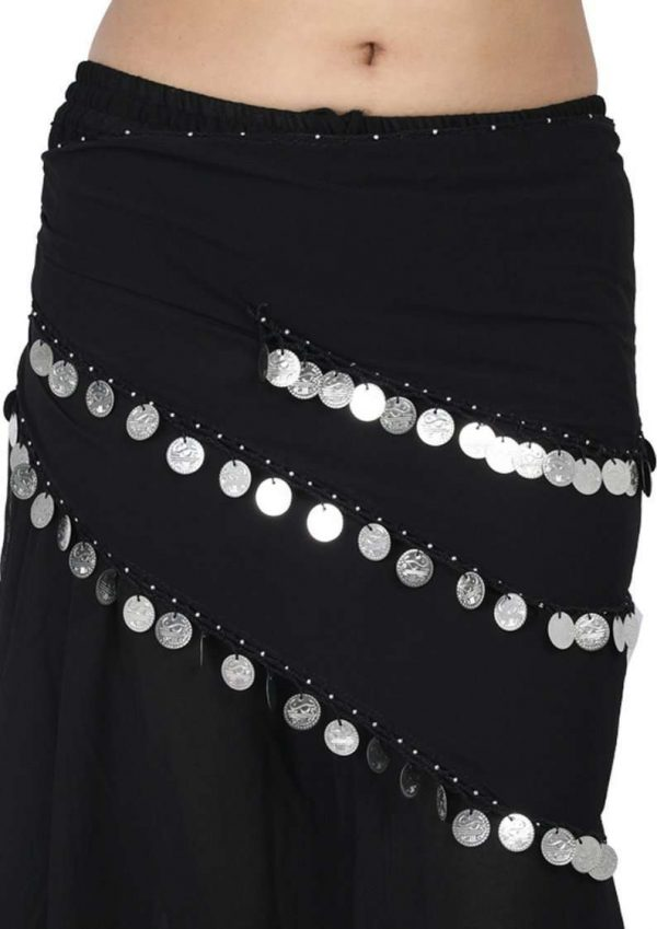 Wevez Egyptian Belly dance hip scarfs (Lot of 12)