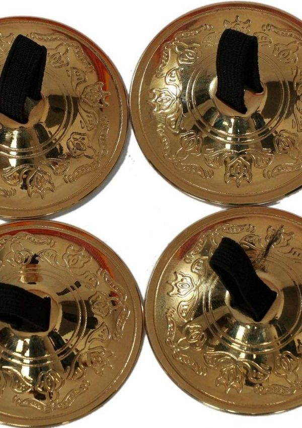 Wevez Finger Cymbals for Belly Dance - 8 Pairs /16 Pcs