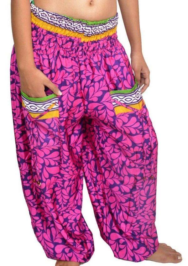 Wevez Harem pants with pockets Stretchable Waist