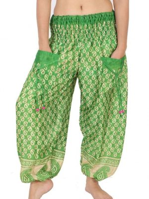 Wevez Harem pants with pockets Stretchable Waist