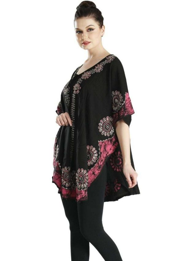 Wevez Ladies Embriodery Poncho Summer Tops Pack