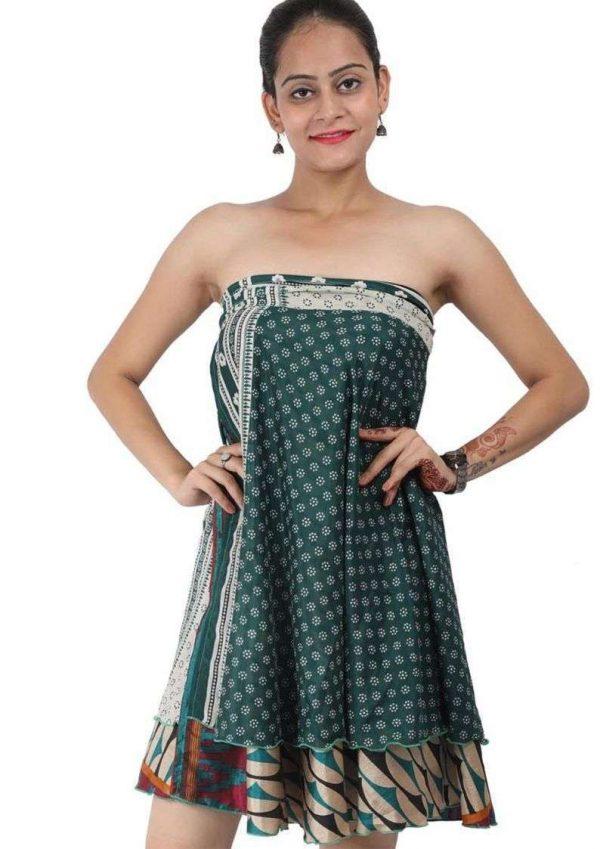 Wevez Medium Length PLUS SIZE Beach Sarong Wrap Skirts, Assorted