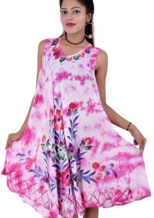 Wevez pack of 3 pcs Women's Empire Waist Knee Length Midi Dresses