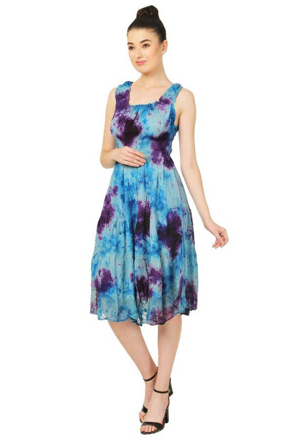 Wevez Party Wear Midi Flare Dress Pack