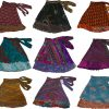 Pack of Wevez Short Length Magic Wrap Skirts PLUS SIZE