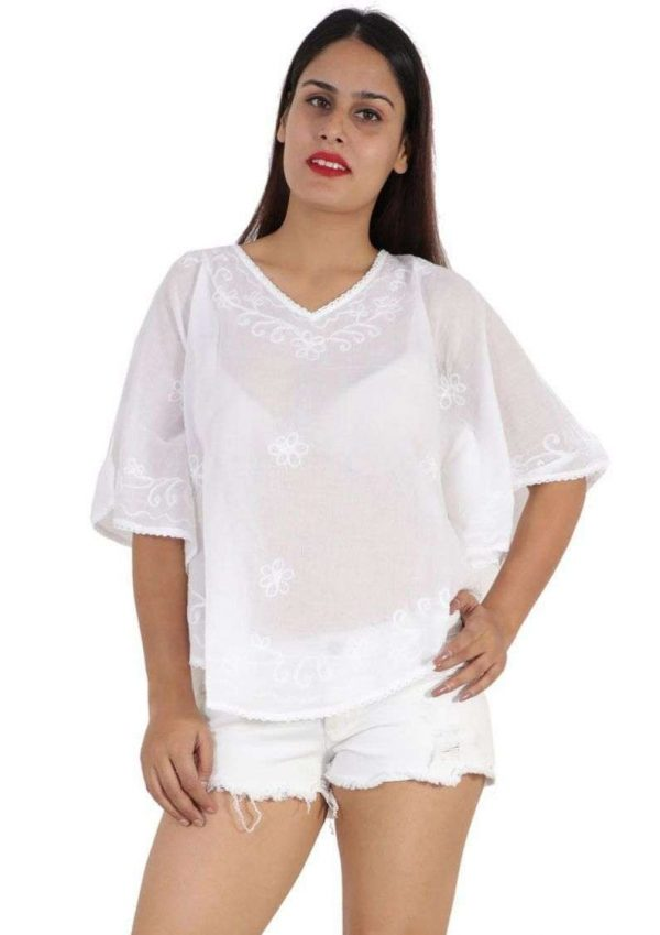 Wevez Short White Australian Summer Design Tops - Pack of 3