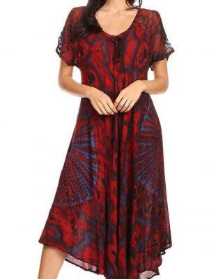 Wevez Tie Dye Casual Dress - Pack of 3