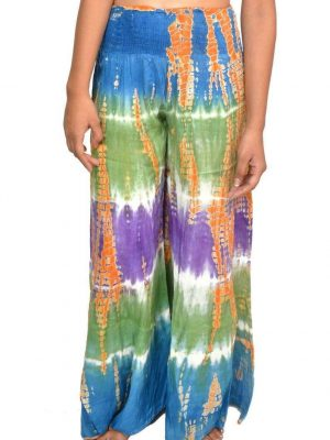Wevez Women tie dye Stretchable Palazzo Pants