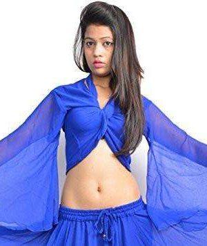 Wevez Women's ATS Belly Dance Winged Arm Choli Gypsy Top
