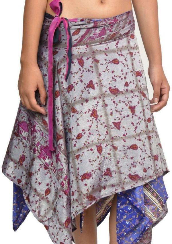 Pack of Women's Diamond Cut Skirts, Medium Length, Assorted