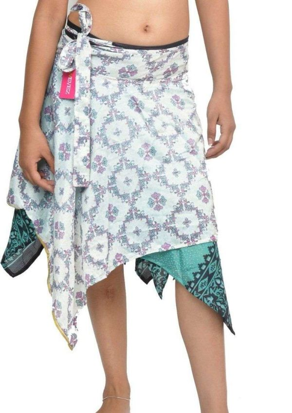 Pack of Wevez Women's Leaf Skirts, Small Length, Assorted