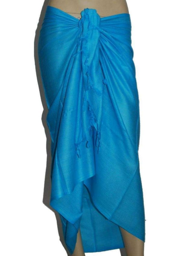 Wevez Women's Pack of 3 Beach Wear Rayon Scarve Pareo, One Size, Assorted