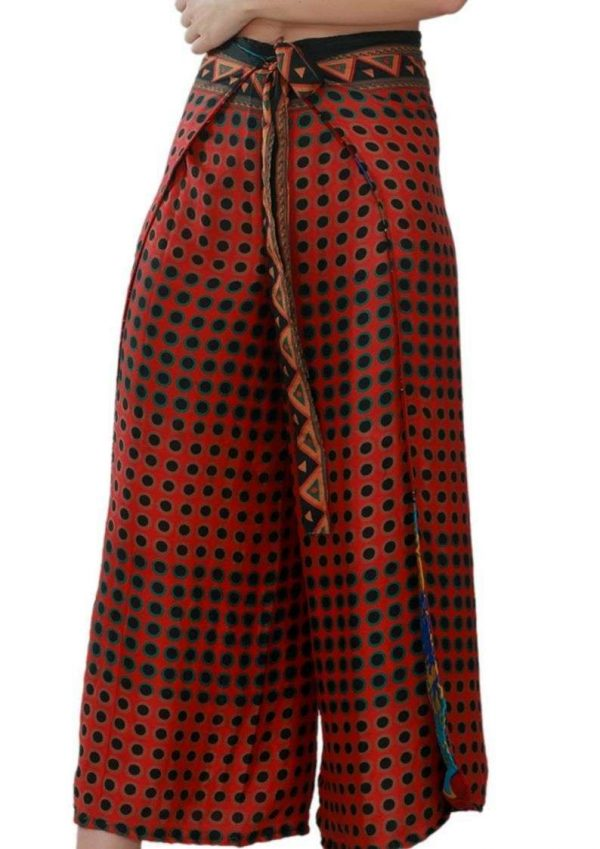 Wevez Women's Thai Fisherman Pants, One Size, Assorted