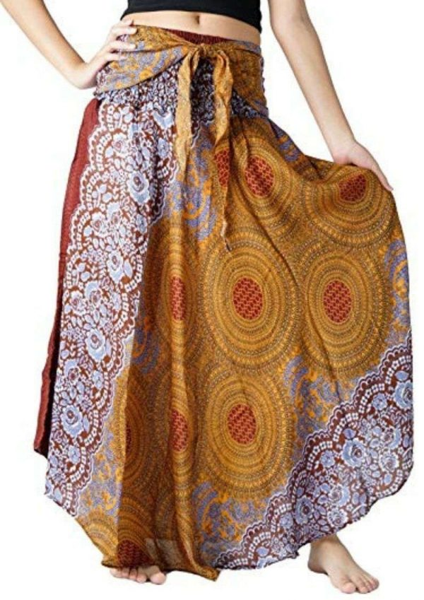 Pack of Hippies Style Bohemian Long Maxi Skirts