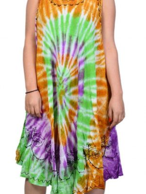 Wholesale Tie Dye Dresses for Ladies Pack