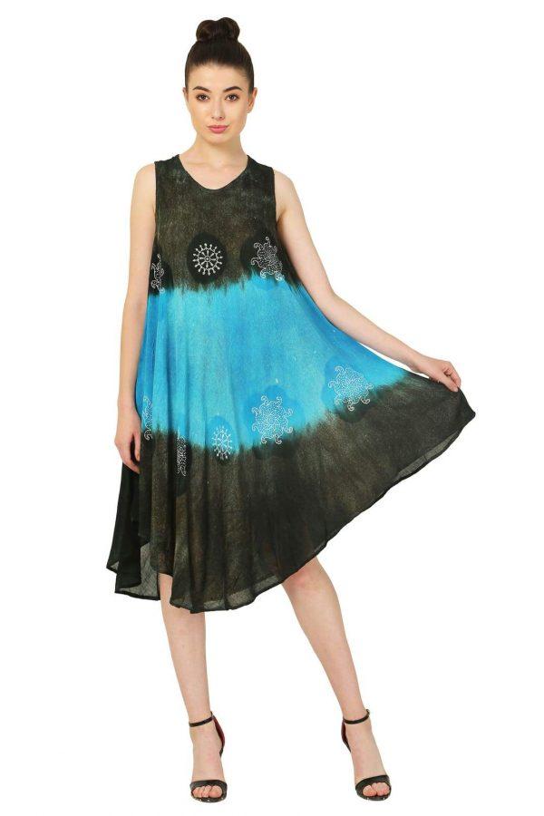Women Summer Round Neck Midi Dresses Pack