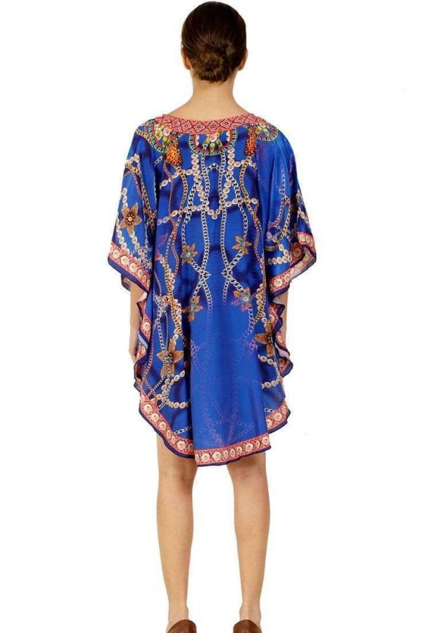 Pack of 03 Digital Printed Beach Loose Casual Mini Short Dress