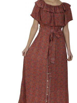 Wevez Pack of 03 Designer Maternity Long Dresses