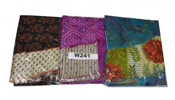 Lot of 3 Art Silk Reversible Indian Short Magic Skirts (Choice Available)