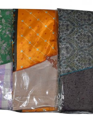 Pack of 03 Plus Size Indian Magic Sari Skirts - Choice