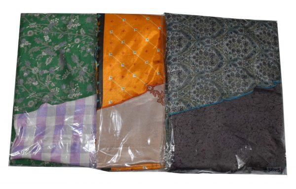 Pack of 03 Plus Size Indian Magic Sari Skirts - Choice
