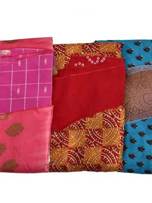Pack of 03 Small Length PLUS SIZE Wrap Around Sari Skirts (Choice Available)