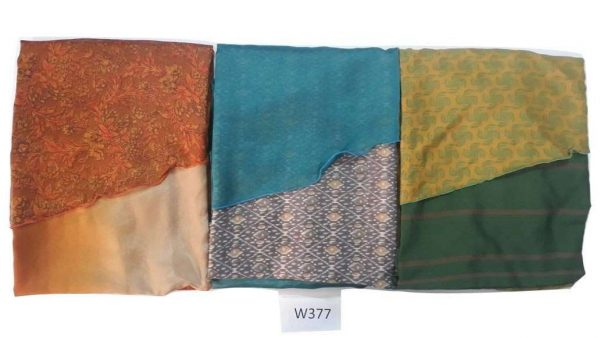 Pack of 03 Long Vintage Wrap PLUS SIZE Sari Skirts (Choice Available)