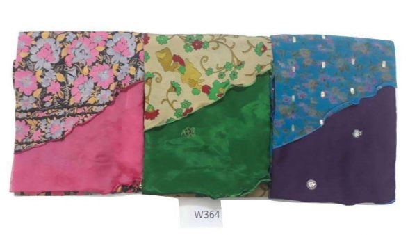 Pack of 03 Women's Long Indian Wrap Sari Skirt (Choice Available)