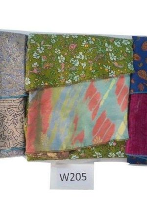 Pack of 03 Women's Reversible Sari Skirts (Choice Available)