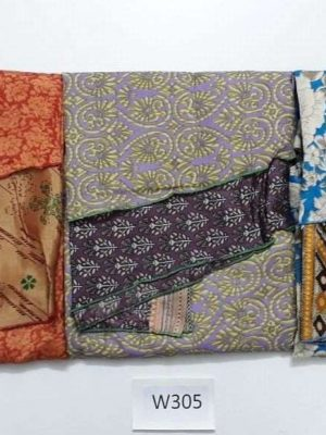 Pack of 3 Indian Reversible Magic Sari Art Silk Wrap Around Skirt (Choice)