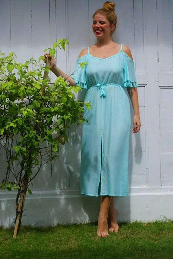 off shoulder office dress