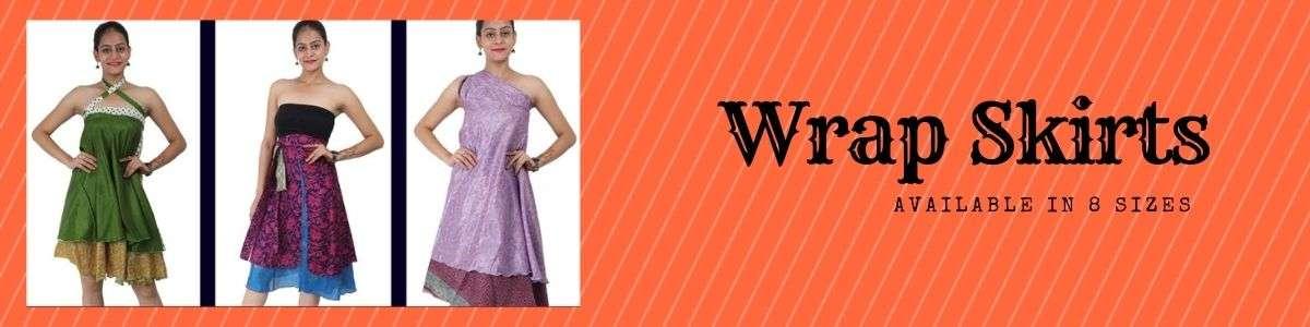 wevez wrap skirts