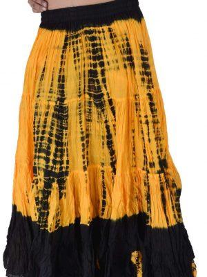 Black/Gold Tie dye