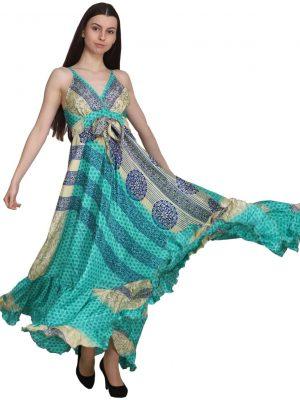 281021-Long Printed Dresses